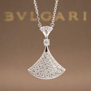Bulgari Diva's Dream White gold + Diamond Necklace